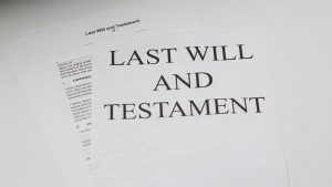 Storing A Will