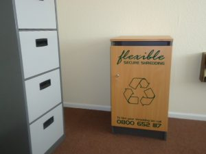Confidential Waste Disposal Console
