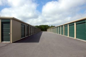Storage facility with various storage units
